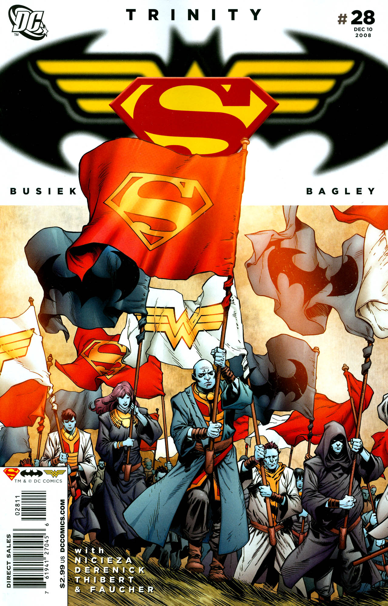 Read online Trinity (2008) comic -  Issue #28 - 1