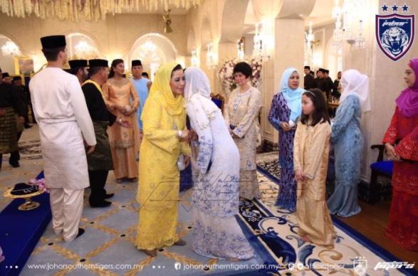 Majlis Pernikahan Tunku Tun Aminah Dan Dennis Muhammad Abdullah