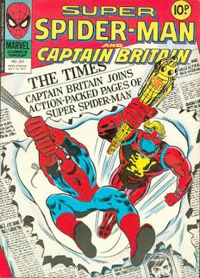 Super Spider-Man and Captain Britain #231