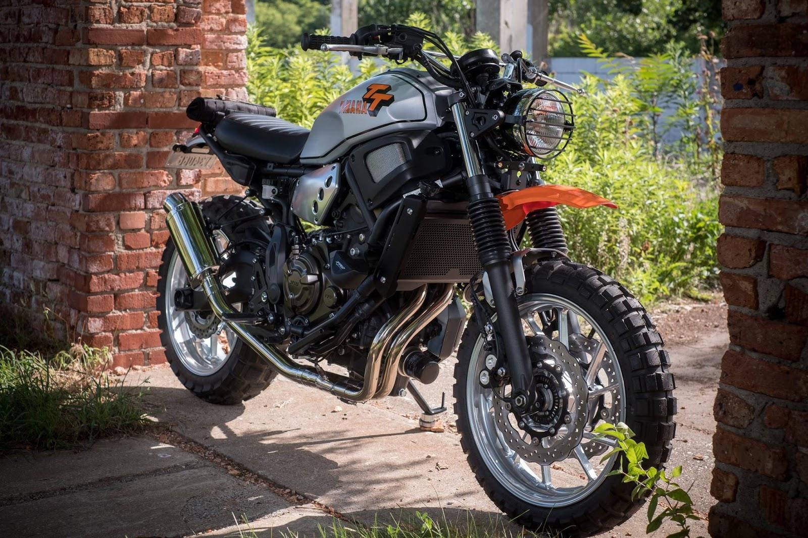 Racing Caf       Yamaha     TTXSR 700  by Hageman Motorcycles