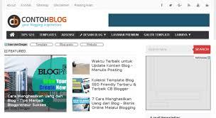 Situs Contoh Blog, Lapak Keren untuk Belanja Template