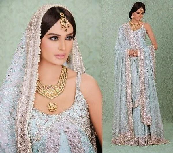 75ba870757 Pakistani Walima Dresses 2014