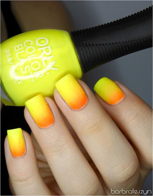 neonowy żółty lakier