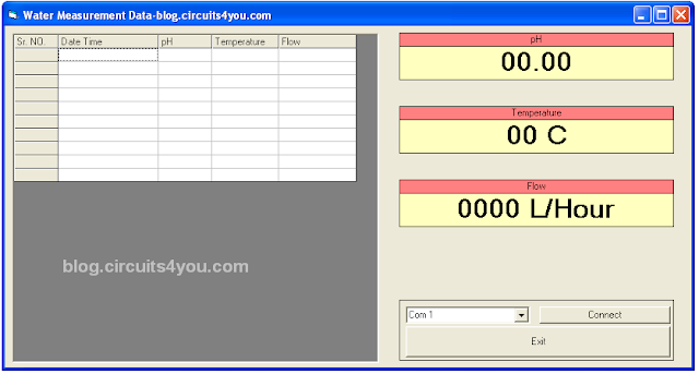 VB6 Software for Data logging