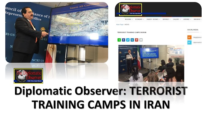 Article: Diplomatic Observer-TERRORIST TRAINING CAMPS IN IRAN