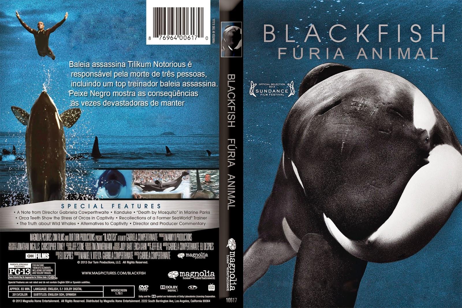 Poster do filme Blackfish - Fúria Animal