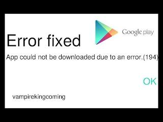Cara Mengatasi Error Google PlayStore