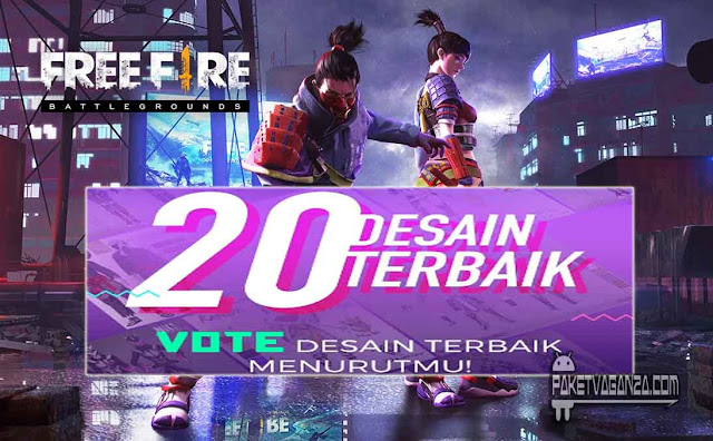 Vote Design FF & Tentukan Pemenang Free Fire Design Contest Vote