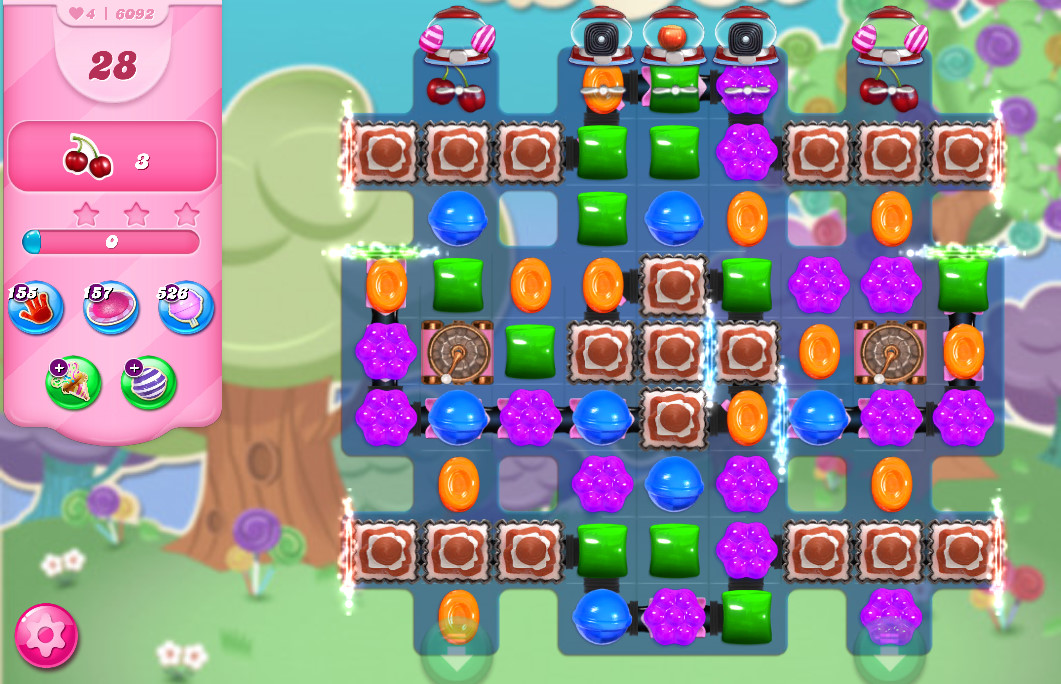 Candy Crush Saga level 6092