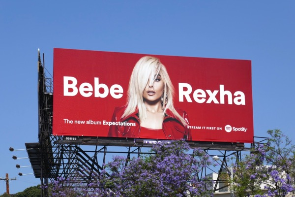 Bebe Rexha Expectations Spotify billboard