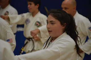 Teaching academic achievement through martial arts Taekwondo training