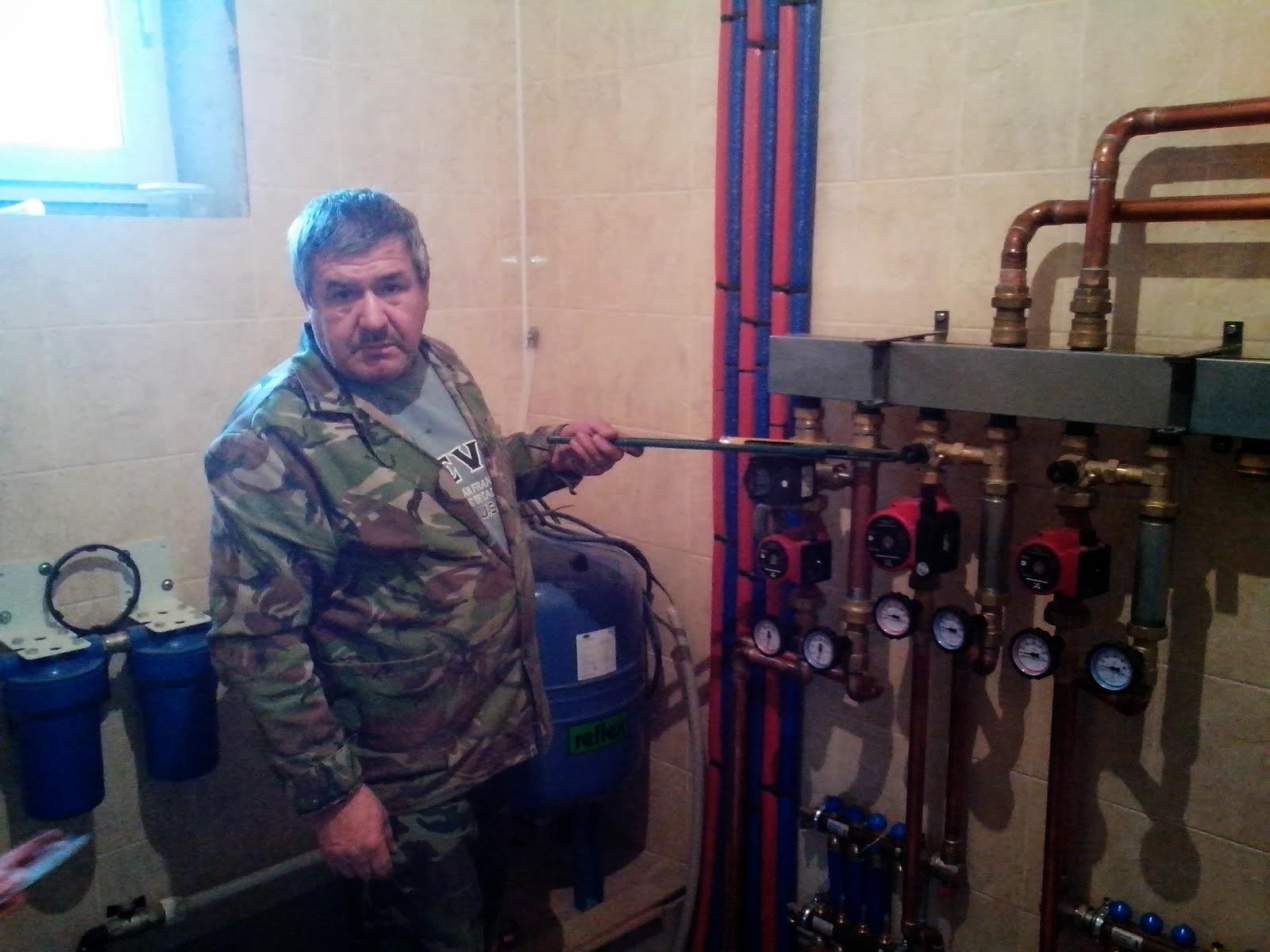 опрессовка системы отопления частного дома д.Красная Похра
