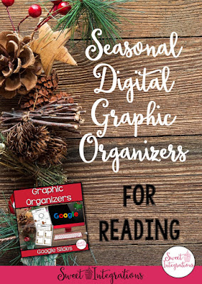 Click through to learn more about these seasonal digital graphic organizers for your upper elementary students. Teachers will save time and expense in their reading instruction by using Google Slides. Allow your kids to collaborate on graphic organizers and use technology to comment right on student work. There are over 20 graphic organizers included for your 2nd, 3rd, 4th, 5th, or 6th grade students to enjoy this Christmas season. Plus you can grab a FREE sample! Click through now.