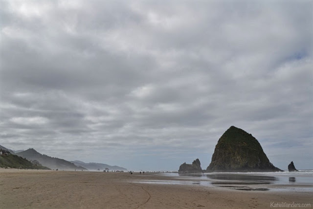 Cannon Beach and Haystack Rock, Oregon