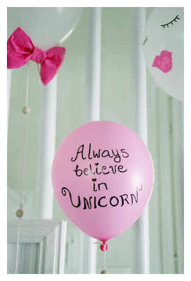 unicorn balloon craft