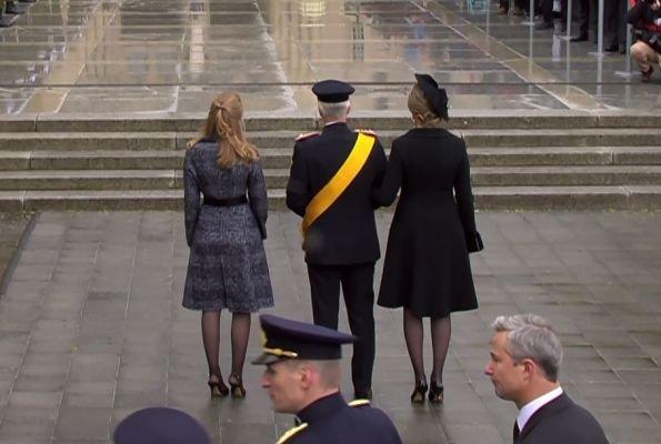 Maria Teresa, Grand Duchess Stephanie, Crown Princess Elisabeth, Queen Mathilde