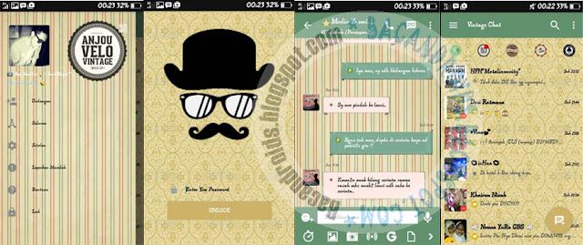 Download BBM Mod Vintage Versi 3.0.1.25 Apk Terbaru for Android