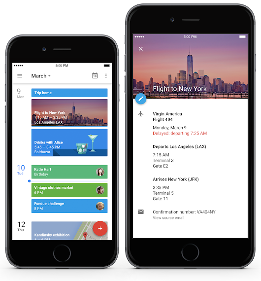 Google Calendar for iPhone. It's about time.