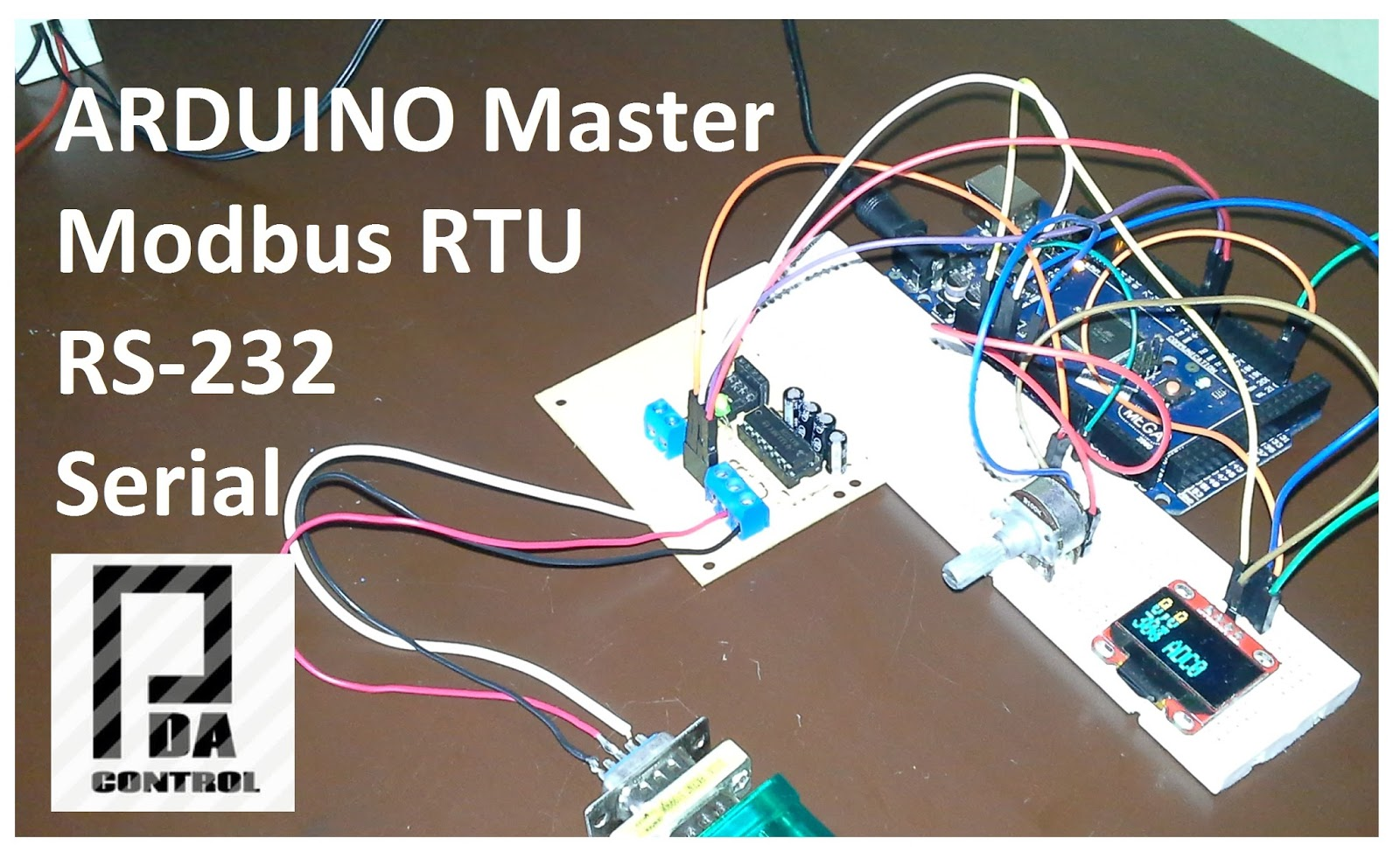 Modbus RTU Master tests with Arduino via RS232 Part 2 - PDAControl