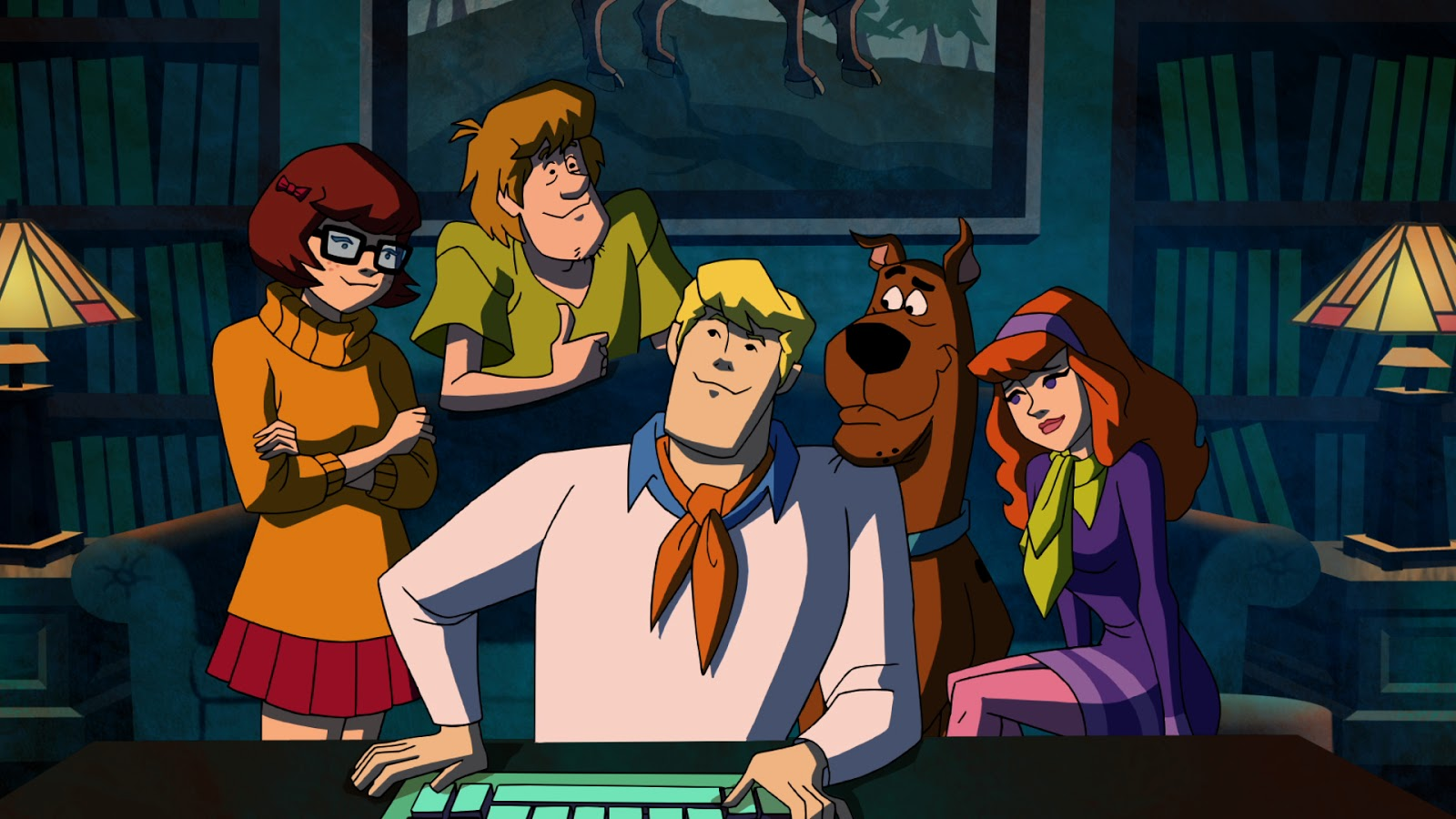 August scooby doo cartoons and scooby doo