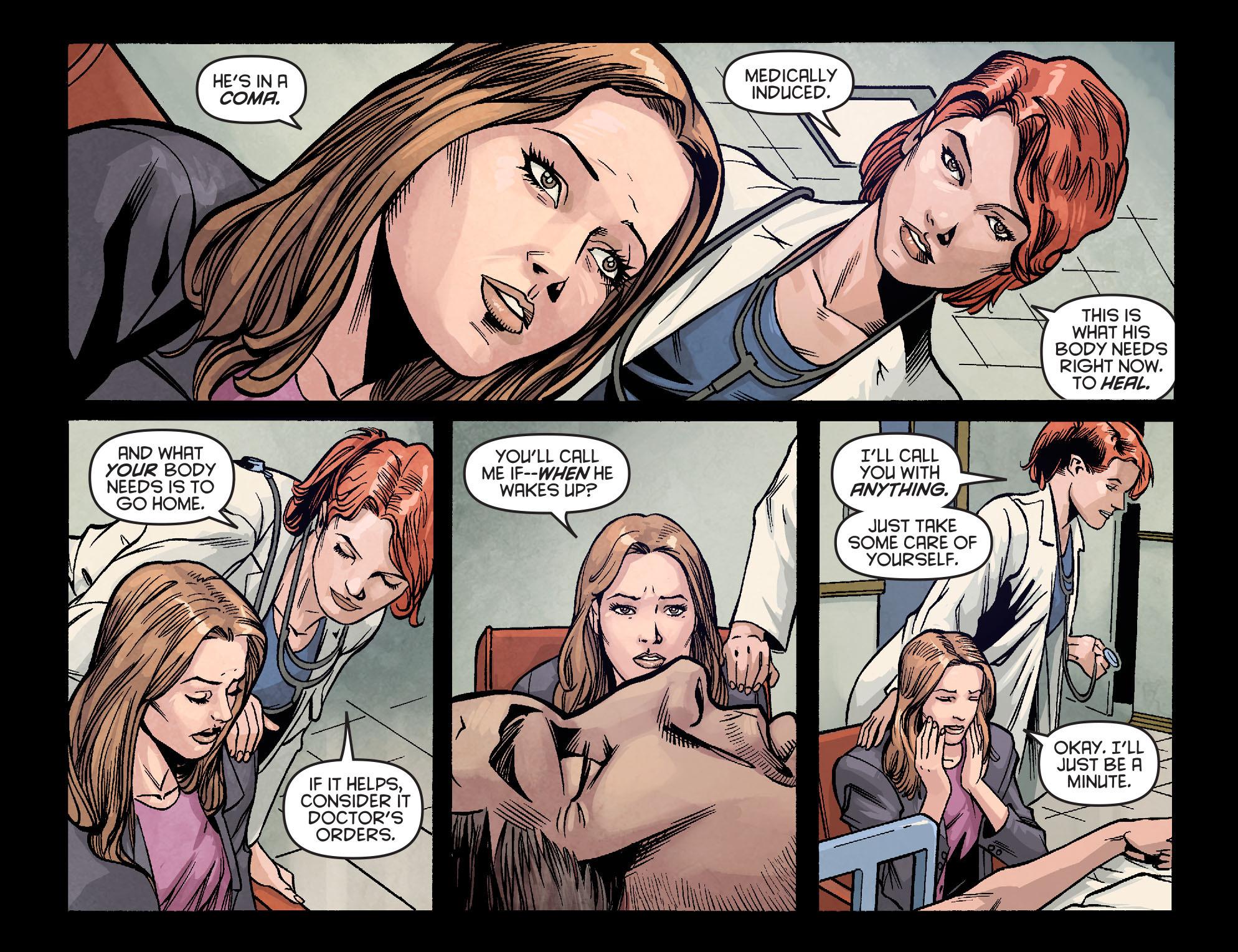 Read online Arrow: Season 2.5 [I] comic -  Issue #2 - 15