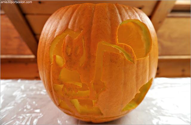 Calabazas Decoradas para Halloween Diseño Muerte