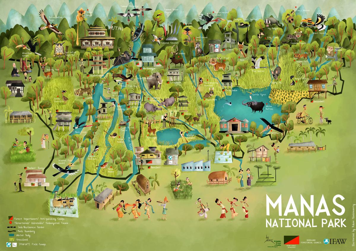 Map Of Lizard Island National Park