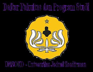 Daftar Jurusan dan Fakultas di UNSOED