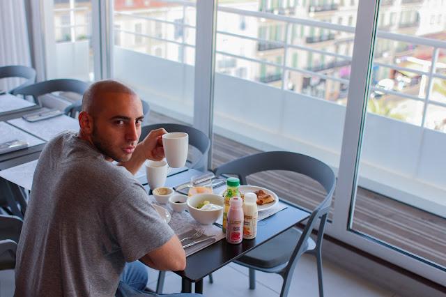 okko hotels cannes colazione
