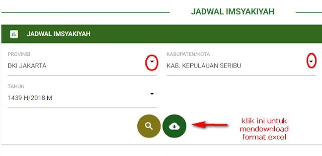 download jadwal imsakiyah ramadhan 1439 h hijriyah seluruh indonesia propinsi kabupaten kota kecamatan