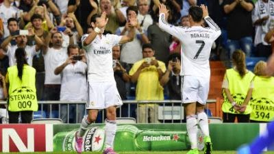 Real Madrid Vs Vasel Liga Champion