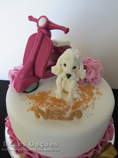 cake decorated Poodle