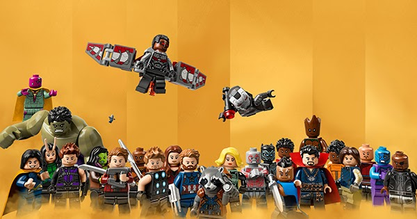The Blot Says Marvel Studios The First Ten Years Lego