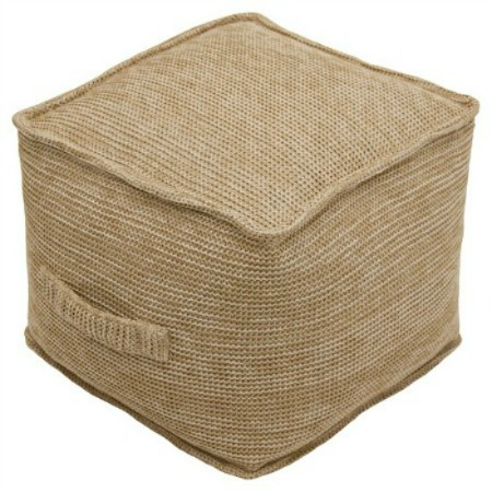 farmhouse pouf