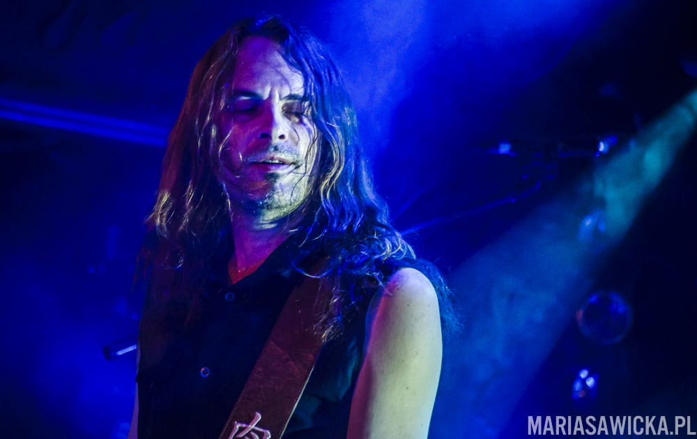 Under The Red Cloud Tour 2016 Amorphis Niclas Etelävuori