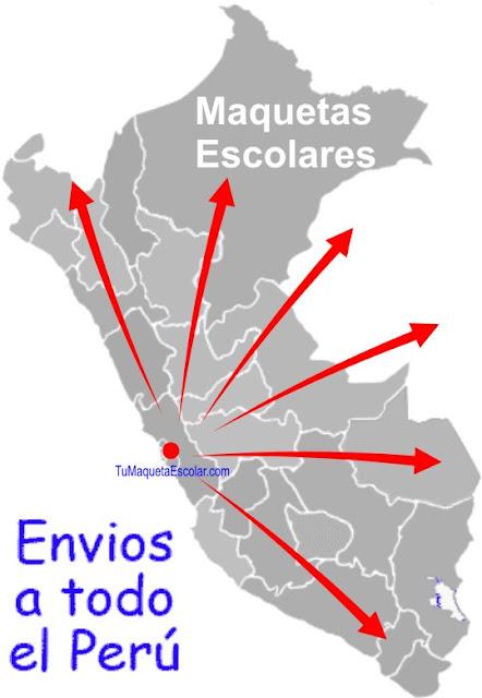 Delivery de maquetas a todo el Peru.