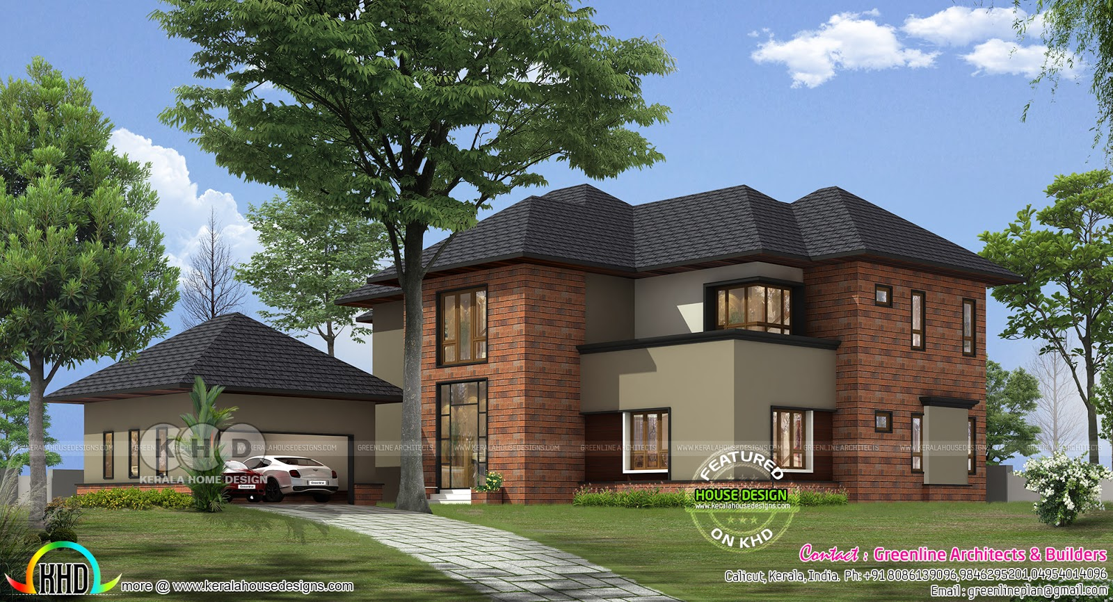 Proposed house at kenya by greenline architects