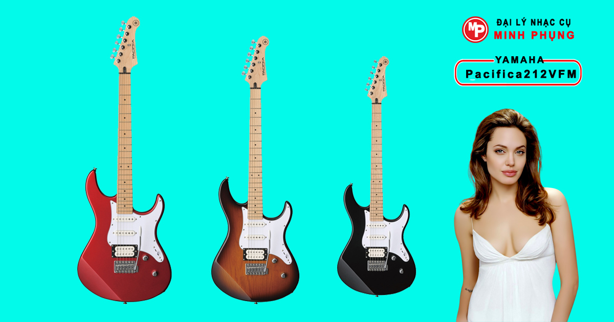 Nơi bán Đàn Guitar Yamaha Electric Pacifica212VFM