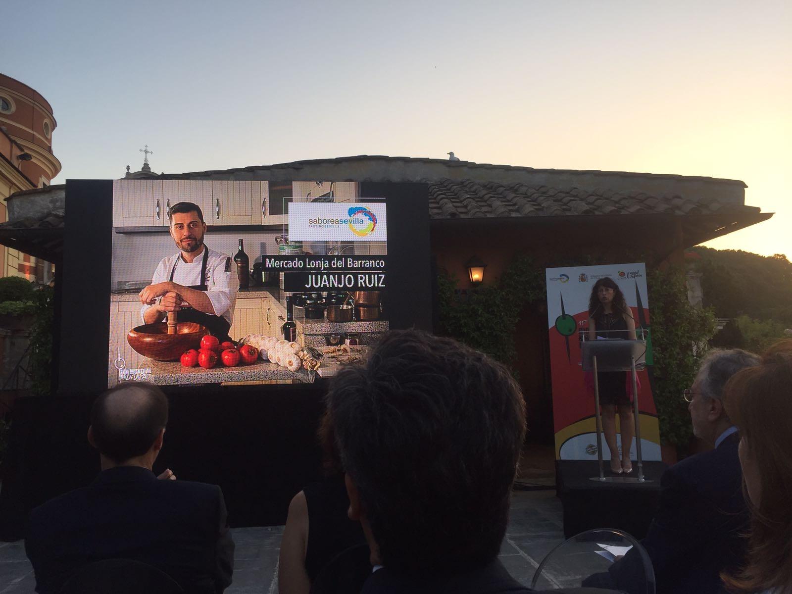 Gel n noticias el ayuntamiento de sevilla participa en la for Oficina turismo roma