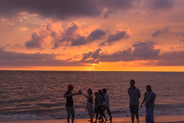 Punnamada Resort Alleppey beach sunset kerala india