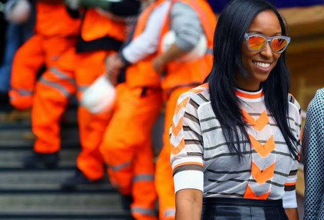 Resultado de imagen de gafas de sol naranja street style