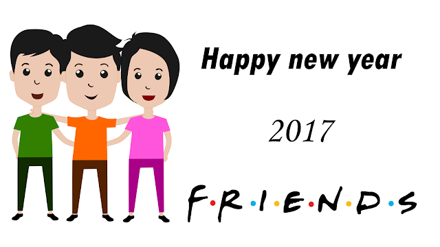 Happy new year 2017 friends