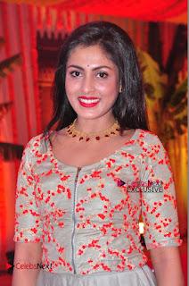 Actress Madhu Shalini Exclusive Stills in Party Dress at Vijay Karan Aashna Wedding  0036.JPG