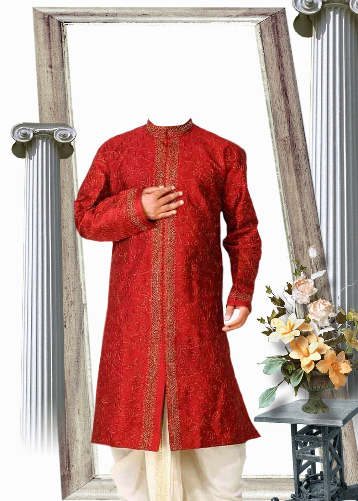 Psd-Sherwani-Dress