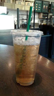 Starbucks Trenta Iced Green Tea refill
