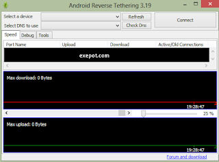 Android reverse tethering tool 3.19 free download for PC