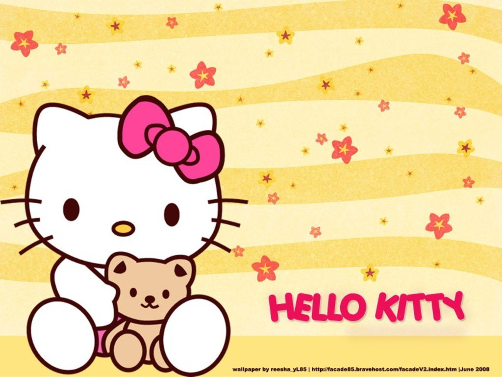 Wallpaper New Hello Kitty Wallpaper