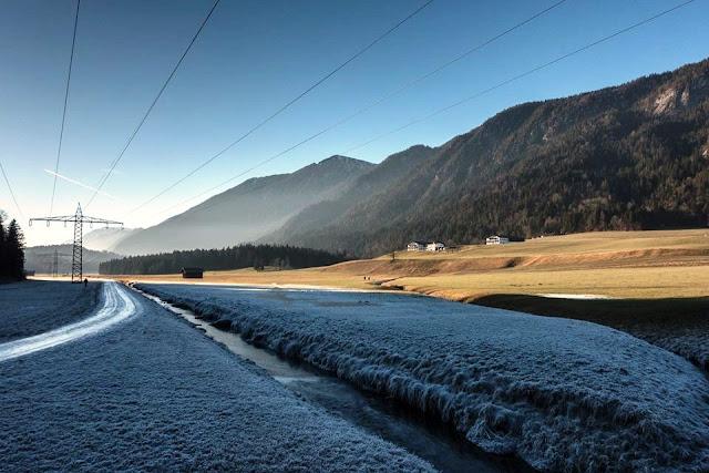 Biken trotz Eis und Schnee. Mit dem Mountainbike durch den Winter.