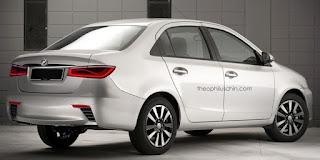 Perodua Akan Lancarkan Model Kereta Sedan ( Perodua D63D )